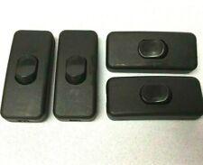 4pcs- Black Button Push Rocker Switch 250V #303 USA Free Shipping