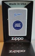Zippo lighter Lucky Strike Luckies Limited Edition Rare 2012 NEW IN BOX MNT