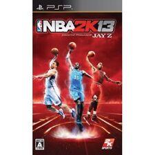 Used PSP NBA 2K13  SONY PLAYSTATION JAPAN IMPORT