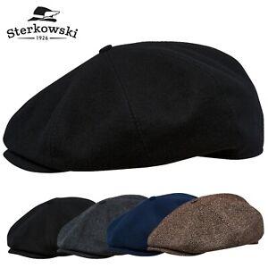 Sterkowski PEAKY BLINDERS Wool Newsboy Cap Vintage Style Paperboy Irish Bandit