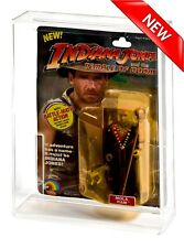 GW Acrylic MOC Carded Indiana Jones Temple of Doom Action Figure Display Case