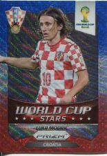 Panini Prizm WC 2014 World Cup Stars Wave Parallel #23 Luka Modric