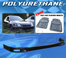 FOR HONDA PRELUDE 97-01 T-SP FRONT BUMPER LIP + DICKIES FLOOR MAT GREY