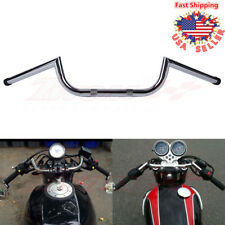 "7/8"" Clubman Handlebars Bars For Honda CB GS XS 650 750 850 900 1100 Cafe Racer"