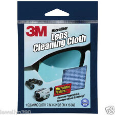 LOT (2) 3 M MICROFIBER LENS CLEANING CLOTHS  9021-CS