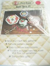 FOLK ART PATTERN SEWING FABRIC PROJECT CRAFT SOFT BOX II APPLIQUE DECOR HOME