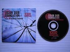 Asian Dub Foundation - Feat. Sinead O'Connor - 1000 Mirrors, PROMO COPY DJ CD