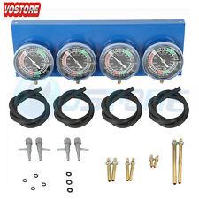 Universal Gauge 4-Carb Carburetor Synchronizer Set kit For Motorcycle