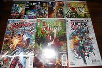 Suicide Squad #1, #0 , New 52 Lot Harley Quinn set  Deadshot #1 3D