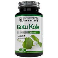 Gotu Kola 500 Tabletten je 500mg Konzentration und Gedächtnis