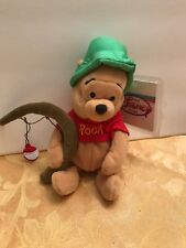 Disney Winnie The Pooh Beanie, Fishing Pooh