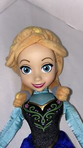 "Disney Frozen Princess Anna Plush 15"" Doll Stuffed Toy"