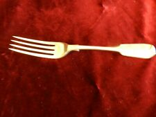 VICTORIAN SILVER DINNER  FORK - FIDDLE PATTERN - LONDON 1839 -  72g