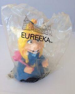 Vintage 1990 MTV Nickelodeon Eureeka's Castle Eureeka Hand Puppet NIP