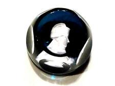 Objet de collection magnifique sulfure facetté en cristal biscuit Napoléon