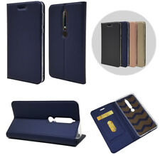 For Nokia 1 2 3 5 6 (6.1) 2018 7 Plus 8 Leather Magnetic Wallet Flip Case Cover