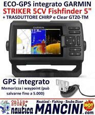 GARMIN STRIKER 5 CV PLUS ECOSCANDAGLIO CON TRASDUTTORE GT20-TM 5CV 010-01872-01