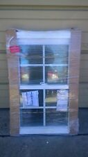 BRAND NEW Nice White VINYL Double-Hung WINDOW w/ Grids 24x36 (no nailing flange)