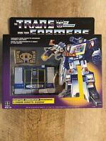 Transformers G1 Reissue Soundwave Hasbro Walmart Exclusive.