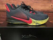 "Nike Kobe Mamba Fury ""Bruce Lee"" Black Red shoes (CK2087-002) Men's 11.5"
