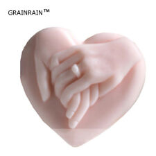 Heart Wedding Silicone Soap Bar Mold Candle Mold DIY Craft Plaster Resin Mold