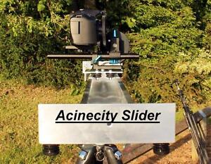Camera Slider 3 foot Long for CANON NIKON SONY JVC PANASONIC BMCC 4k etc **UK**