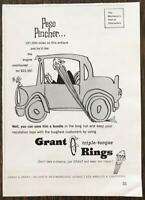 1961 Grant Triple Torque Rings Print Ad  Peso Pincher Grant & Grant Los Angeles