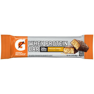 Gatorade Whey Protein Recover Bars 2.8oz (12 Pack) Recovery Bars