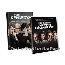 The Kennedys: Complete Historical Miniseries + After Camelot Box/DVD Set(s) NEW!