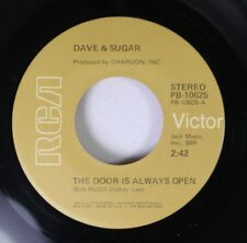 Country 45 Dave & Sugar - The Door Is Always Open / Late Nite Country Lovin Musi