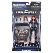 Captain America Marvel Legends Black Widow Figure 6 Inches