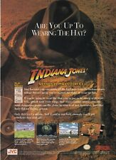 Indiana Jones Greatest Adventures Super Nintendo SNES video game print ad page
