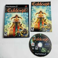 Culdcept Sony PlayStation 2 2003) PS2 Complete w/ Manual CIB - Tested DISC NM