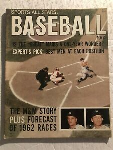 1962 Baseball All Stars NEW YORK Yankees ROGER MARIS Mickey MANTLE Preview M&M