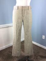 Banana Republic Martin Fit 4 stretch wool herringbone dress pants brown gray EUC