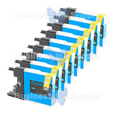 9 CYAN LC71 LC75 NON-OEM Ink for BROTHER MFC-J430W LC-71 LC-75 LC71C LC75C