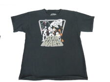 Kids Boy T Shirt Size  2 XL 18 Star Wars Black