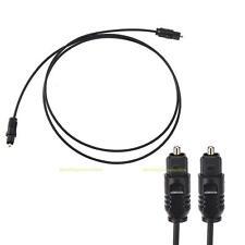 3 FT/1m Digital Fiber Optic Audio Cable Optical SPDIF TosLink for TV DVD AMP