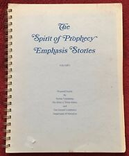 The Spirit of Prophecy Emphasis Stories Volume I Norma Youngberg EGW Estate SDA