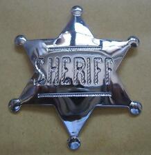 Sheriffstern  Star  Western Cowboy Marshal Deputy Wildwest