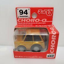 Takara Choro-Q Honda N360 Gold 94 2004 HTF