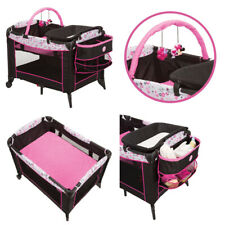 Disney Baby Minnie Mouse Sweet Wonder Play Yard with Carry Bag Garden Delight