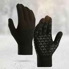 Thermal Touch Screen Winter Knitted Glove Warm Velvet Outdoor Sport Antiskid Set