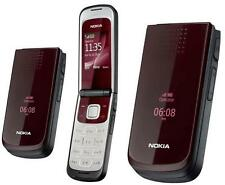 2017 ORIGINAL Nokia 2720 Fold Deep Red %100 UNLOCKED GSM Cell Phone WARRANTY ENG