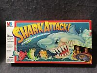 Vintage Milton Bradley 1988 Shark Attack! Board Game Tested Working & Complete