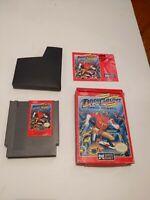 Dash Galaxy Nintendo NES video game Classic Complete In Box RARE!