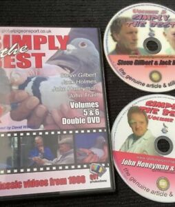 Racing Pigeon Double Dvd Four Top Distance Flying Fanciers Uk Maters 5 & 6