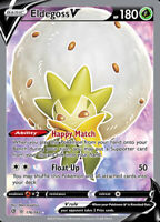 Pokemon 1x NM-Mint Holo Eldegoss V - 176/192 - Full Art Ultra Rare Rebel Clash