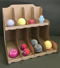 Y200 BATHBOMB CRAFT SHELF DISPLAY Candy Cart Cup Cake Stand Sweet MDF Donut XL
