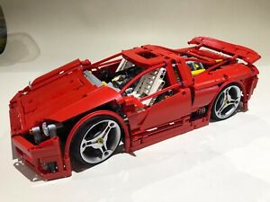 Lego Technic Custom Supercar  Remote Controlled 42056 Genuine Lego